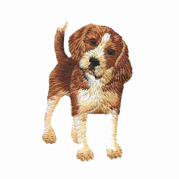 Dogs - Adorable Beagle Iron On Dog Patch Applique