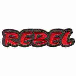 """REBEL"" iron on patch"