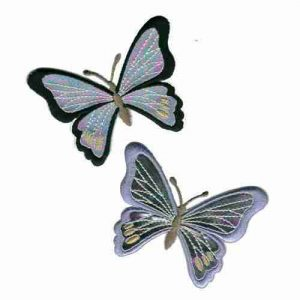 Holographic Butterfly also available in Lavender - Sold Se