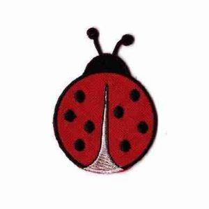 Ladybugs - Iron On Ladybug (LARGE) Iron on Applique