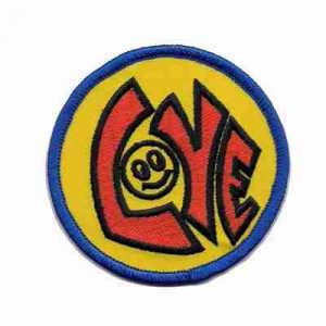 product 9 5 957 love smiley patch