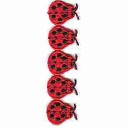 Ladybugs - 35 Inches of Ladybugs! iron on Applique