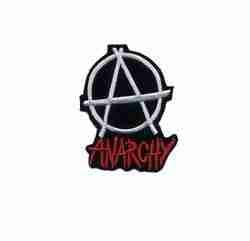 Anarchy Embroidered Patch