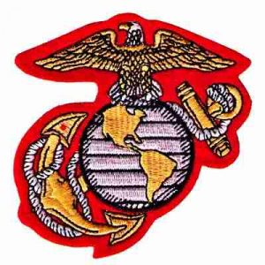 U.S. Marine Corps Insignia Iron On Military Patch