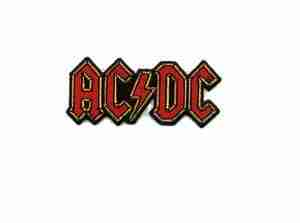 AC/DC Rock Band Iron On Applique