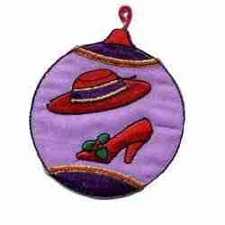 Red Hat Christmas Ornament