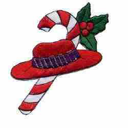 Red Hat with Candy Cane