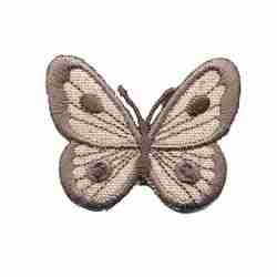 Butterflies - Small Tan Butterfly Iron on Patch