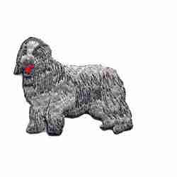 Dogs - Sheep Dog Iron On Pet Patch Applique