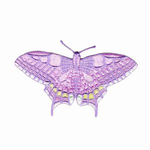 Butterflies - Deep Pink Old World Swallowtail Butterfly - LARGE