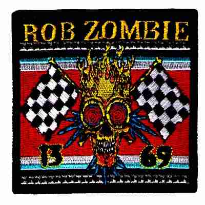 Rob Zombie 13/69 Iron On Rock Band Patch - 1 left!
