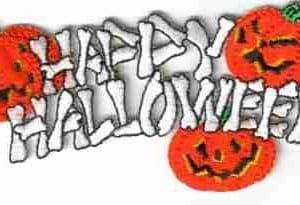 """Halloween - """"Happy Halloween"""" Script with Pumpkins"""