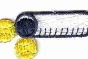 Tennis - Open Tennis Ball Can Iron on Patch Applique