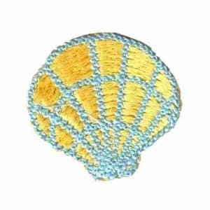 seashell patch Yellow 510 450