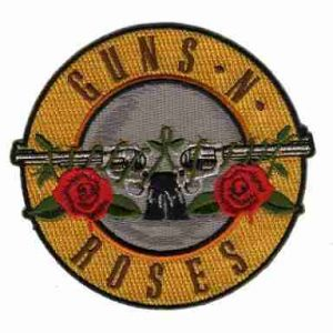 Guns N' Roses Iron On Band Patch | LaughingLizards.com