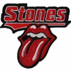 Rolling Stones Rock Band Iron On Applique