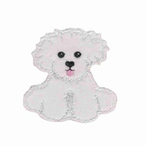 "Dogs - Puppy Dog ""Chopstix"" Iron On Applique"