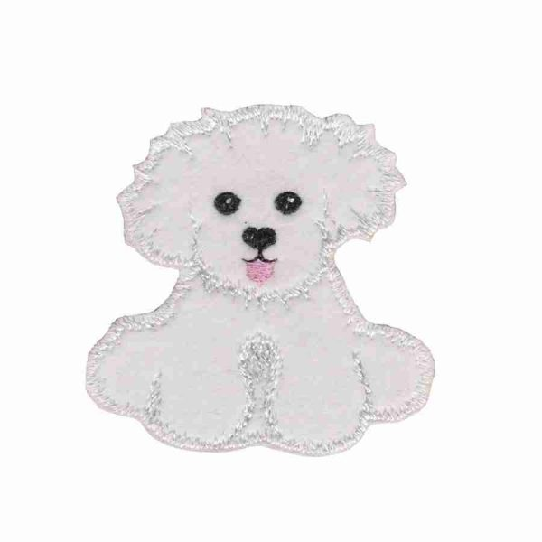 "Dogs - Puppy Dog ""Chopstix"" Iron On Applique"