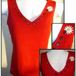 Sample 11 - Ladybug over's Tank Top - NOT FOR SALE