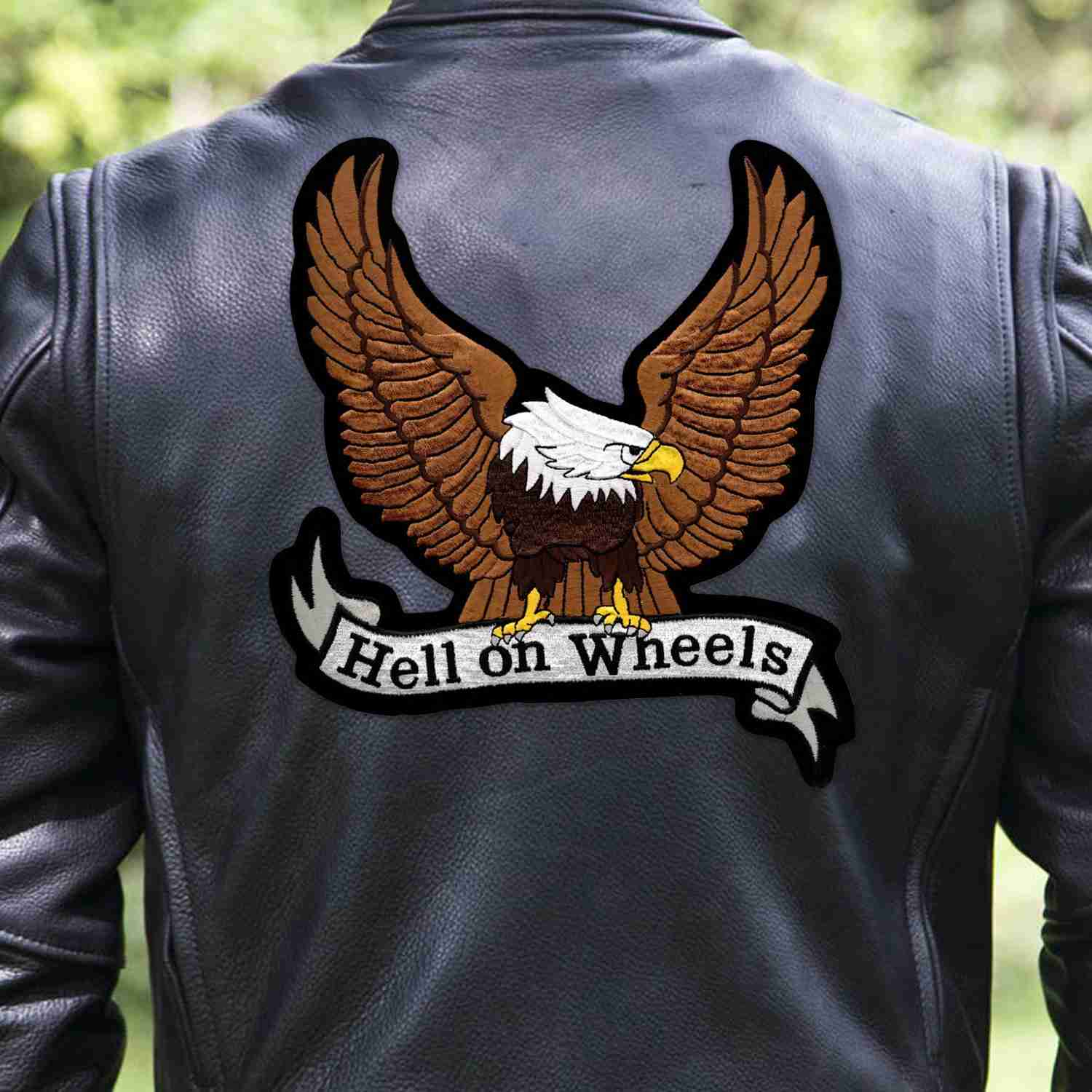 Biker Jacket With Patch