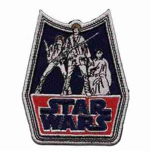 Star Wars Retro Badge Iron on Patch Applique