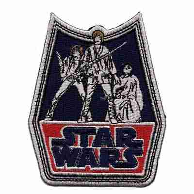 Star Wars Retro Badge Iron on Patch Applique