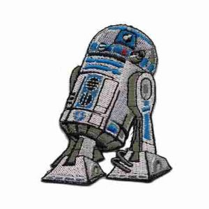 Star Wars R2D2 Iron or sew on Patch Applique