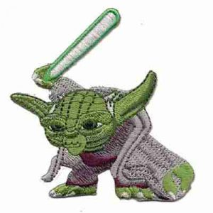 Star Wars Yoda Iron on Patch Applique
