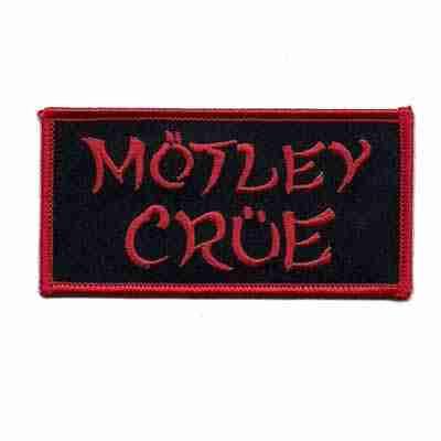 Motley Crue Iron on Patch Applique