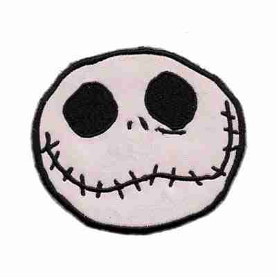 Nightmare Before Christmas Jack Skellington Face Laughing Lizards