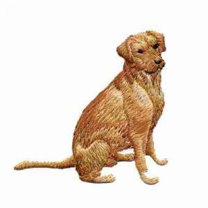 Dogs - Golden Retriever Iron on Patch Applique