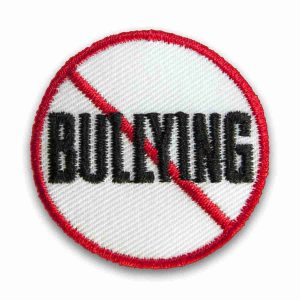 Anti-Bullying Sign Iron or Sew on Patch