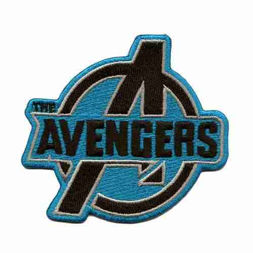 Avengers Logo Iron or Sew on Patch Applique