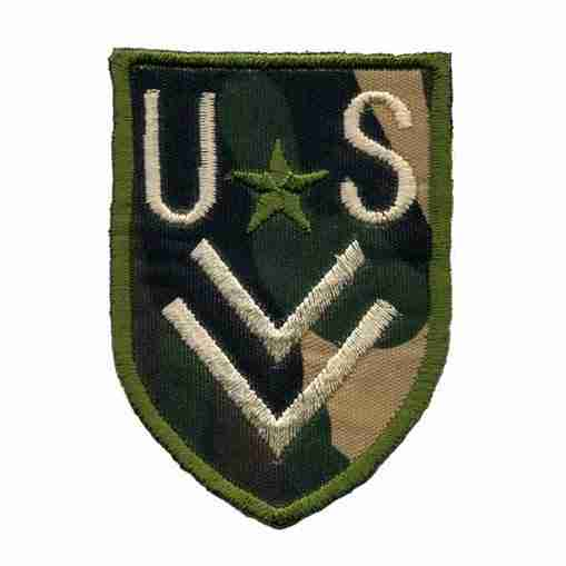 US Army Corporal camouflage Patch Applique