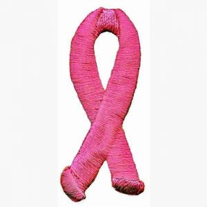 "Breast Cancer Awareness Patch Applique-2""H"