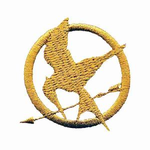 Hunger Games Logo Patch Applique