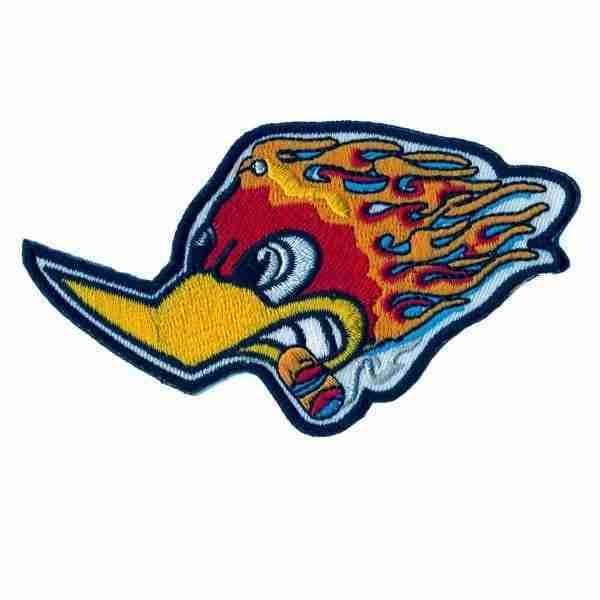 Woody Woodpecker Racing Logo Patch