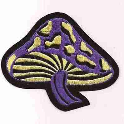 Mushroom patch applique - Shrooms