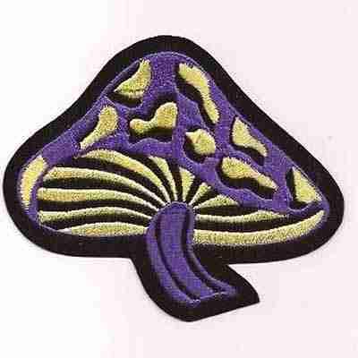 Mushroom patch applique - Shrooms