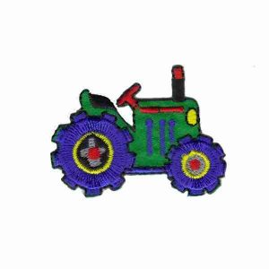 Tractor Iron on Patch Applique