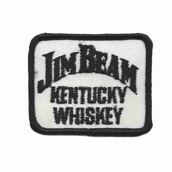 Jim Beam Kentucky Whiskey Logo Patch