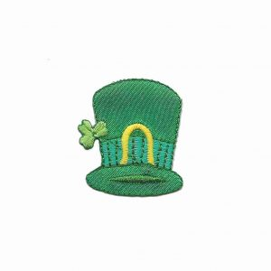 St Patrick's Day - Leprechaun's Hat Iron On Patch Applique