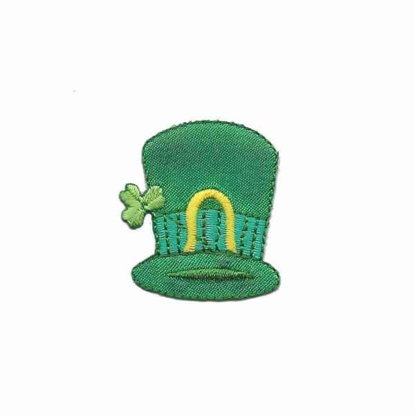 St Patrick's Day - Leprechaun's Hat Iron On Patch Applique