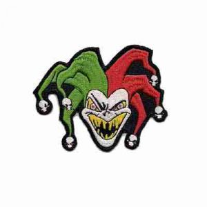 Evil Joker Patch iron on patches