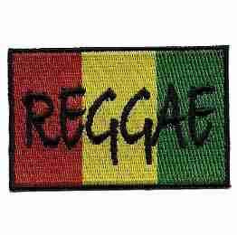 Reggae Rasta Flag Iron on Patch Jamaican flag