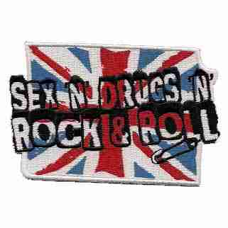 Sex, Drugs, Rock N Roll Patch