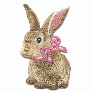 Realistic Easter Bunny Patch