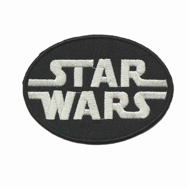 Star Wars Logo Iron on Patch Applique