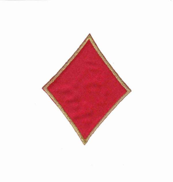 Card Suit Symbols - Spade Iron On Patch Applique