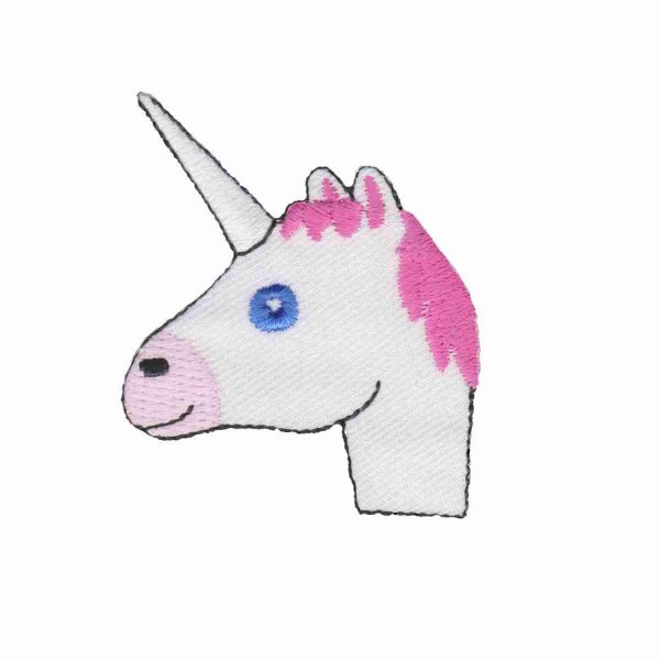 Unicorn Emoji Patch Sticker